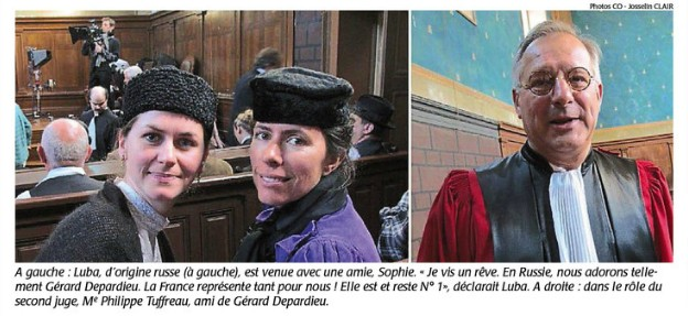 Article Courrier de l'Ouest du 13/10/2014 Suite